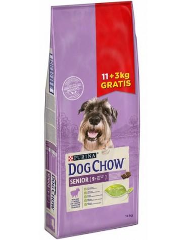 Purina Dog Chow Senior Jagnięcina 14kg (11+3kg gratis)