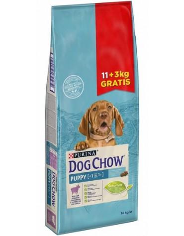 Purina Dog Chow Puppy Jagnięcina 14kg (11+3kg gratis)