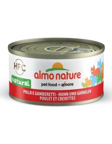 Almo Nature HFC Natural Kot - Kurczak i krewetki 70g [5024H]